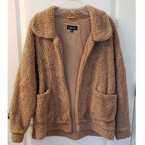 Brown Sherpa Jacket